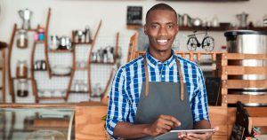 Small business owner filing Independent contractor form 1099-MISC