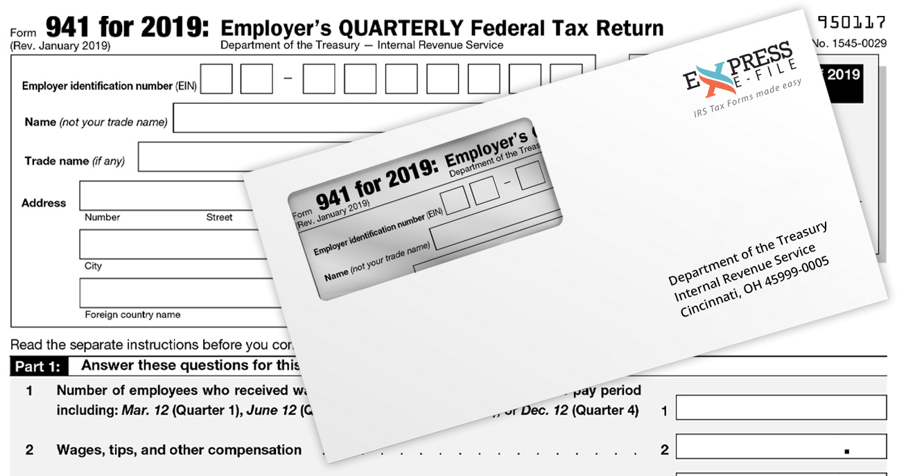 where to Mail Form 941