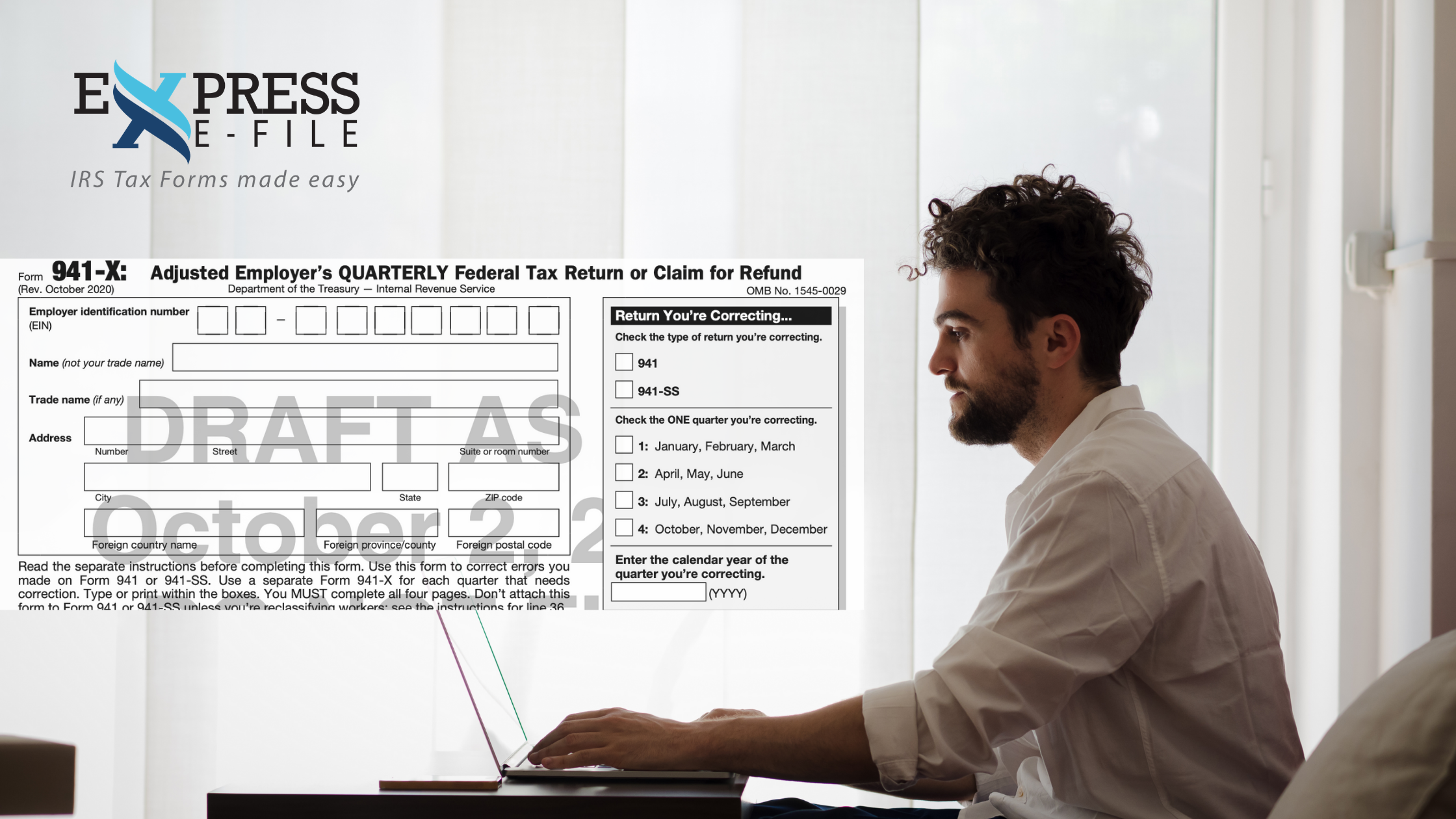 Updated Form 941-X