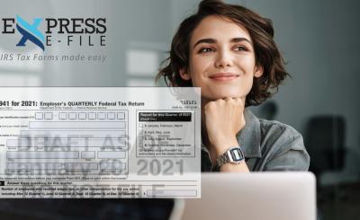 New IRS Form 941 Draft