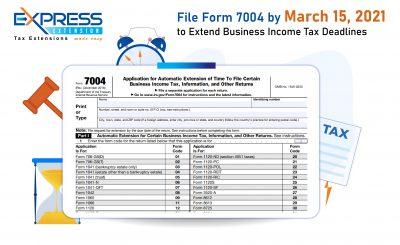 File Form 7004