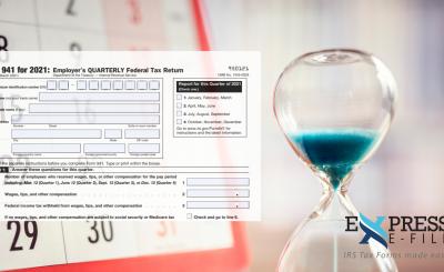 Form 941 Deadline