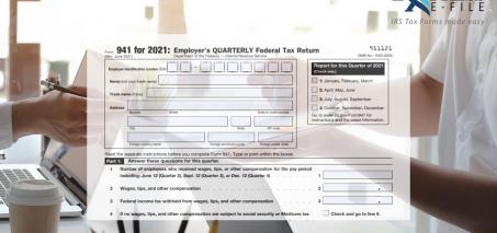 New Form 941 Worksheets